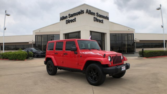 Certified Pre-Owned 2015 Jeep Wrangler Unlimited Wrangler X