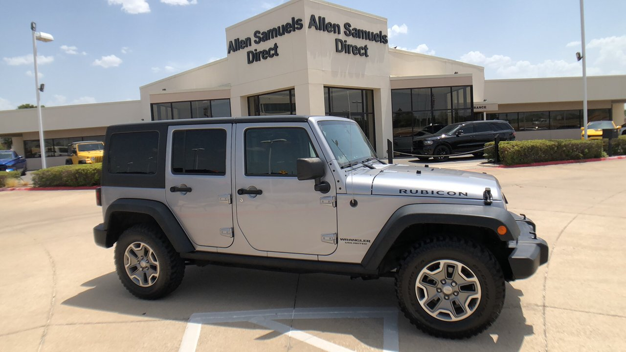 Good Pre Owned 2014 Jeep Wrangler Unlimited Rubicon