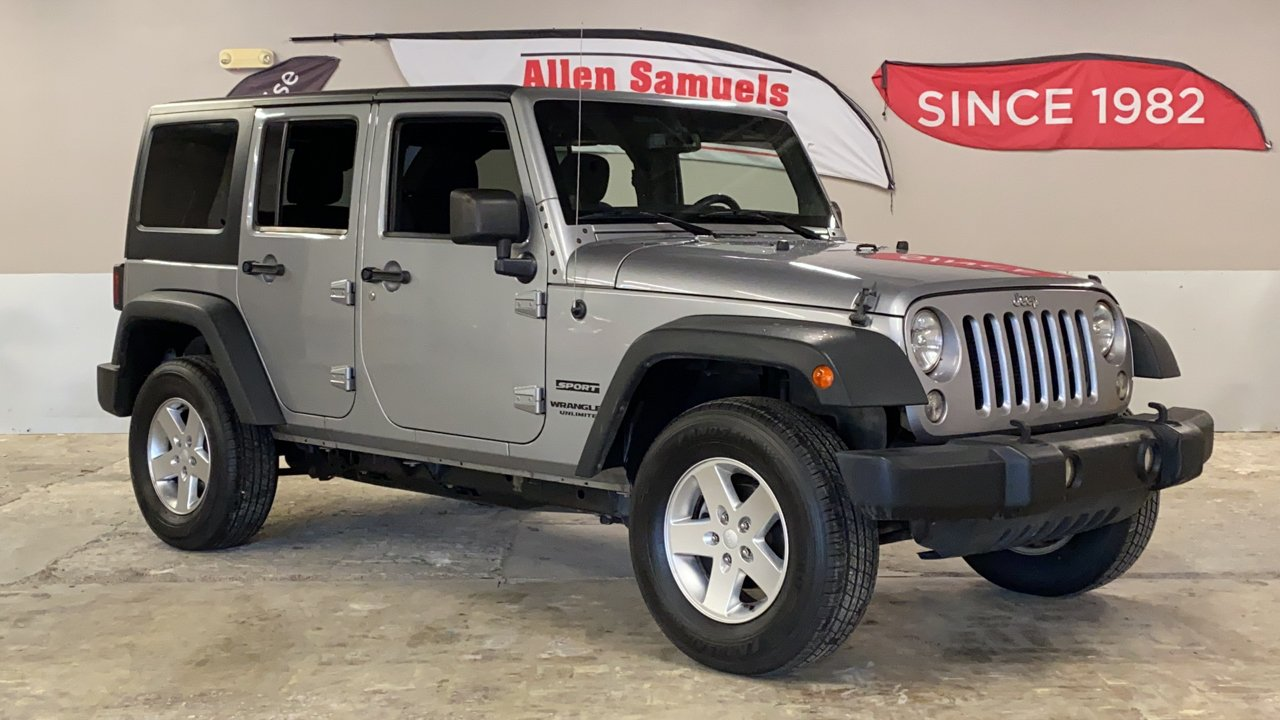 Certified Pre-Owned 2014 Jeep Wrangler Unlimited Sport