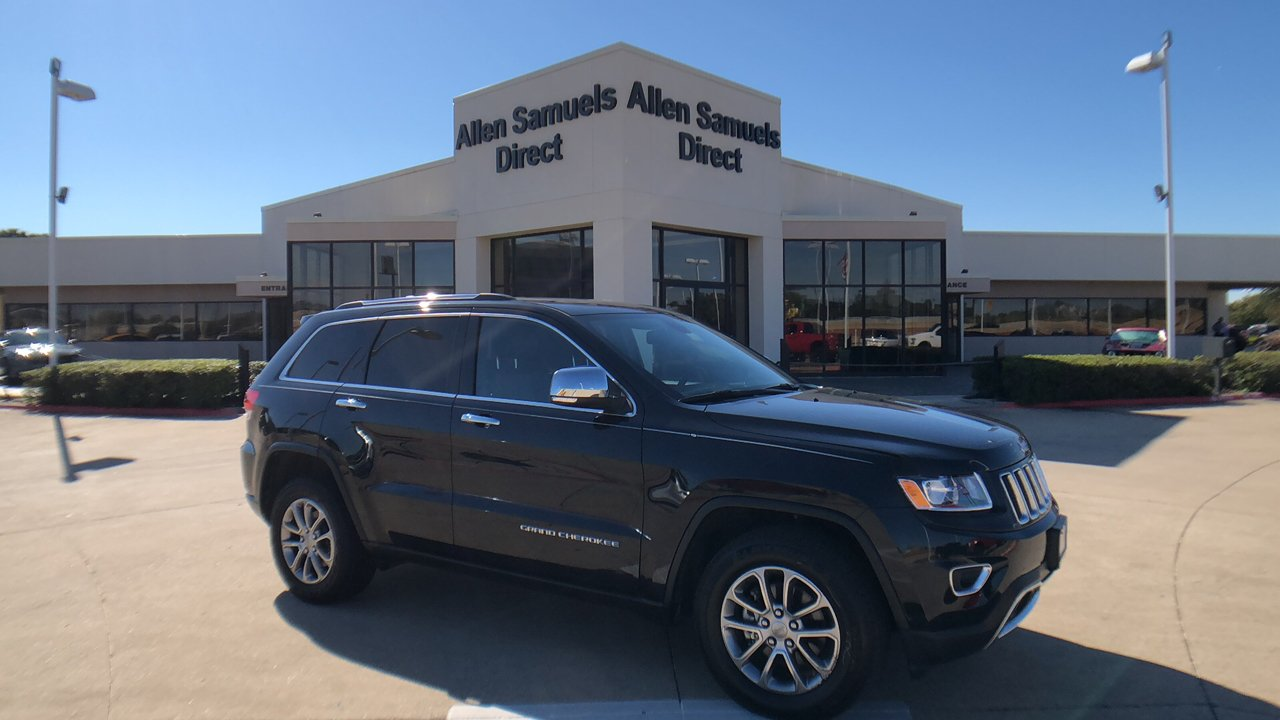 Pre Owned 2015 Jeep Grand Cherokee Limited Sport Utility In Euless Towing Wire Harness Hook Up