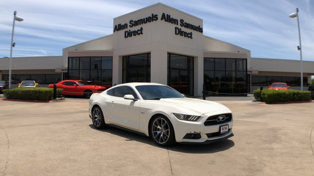 Certified Pre-Owned 2015 Ford Mustang GT 50 Years Limited Edition