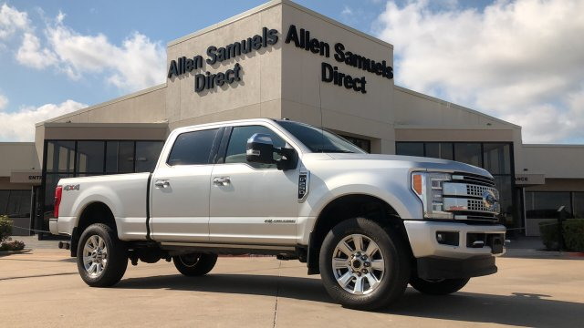 Certified Pre-Owned 2017 Ford Super Duty F-250 SRW Platinum 4WD Crew Cab 6.75' Box