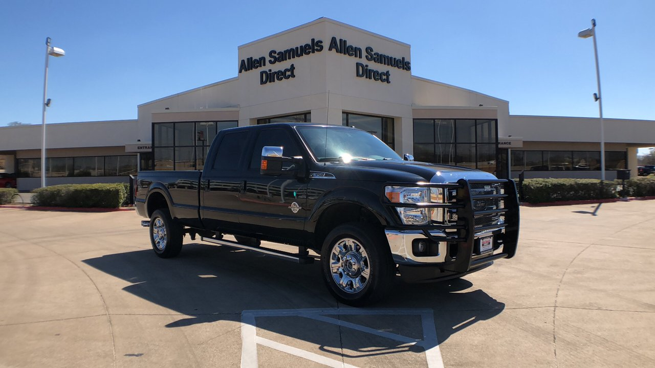 Certified Pre-Owned 2016 Ford Super Duty F-350 SRW Lariat