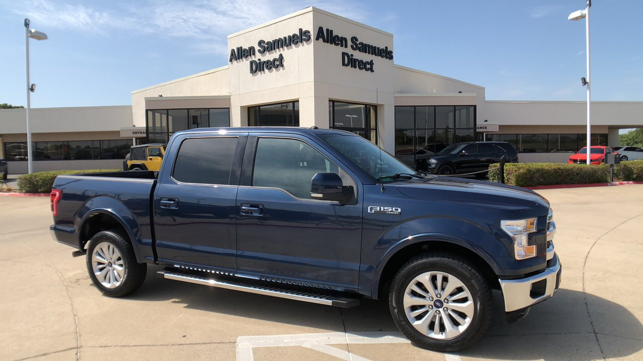 Pre owned 2016 ford f 150 lariat