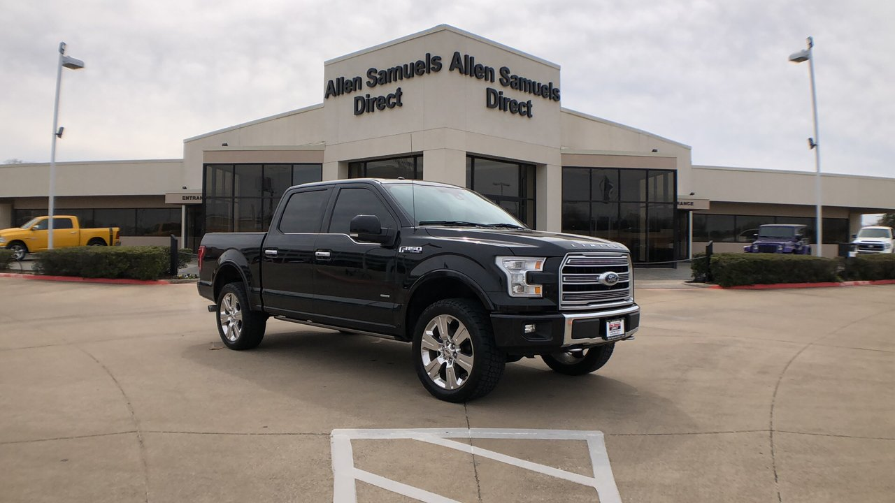 Pre-Owned 2016 Ford F-150 4WD SuperCrew 145 Limited *Late Av