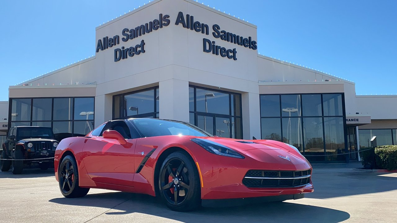 Certified Pre-Owned 2014 Chevrolet Corvette Stingray 2LT