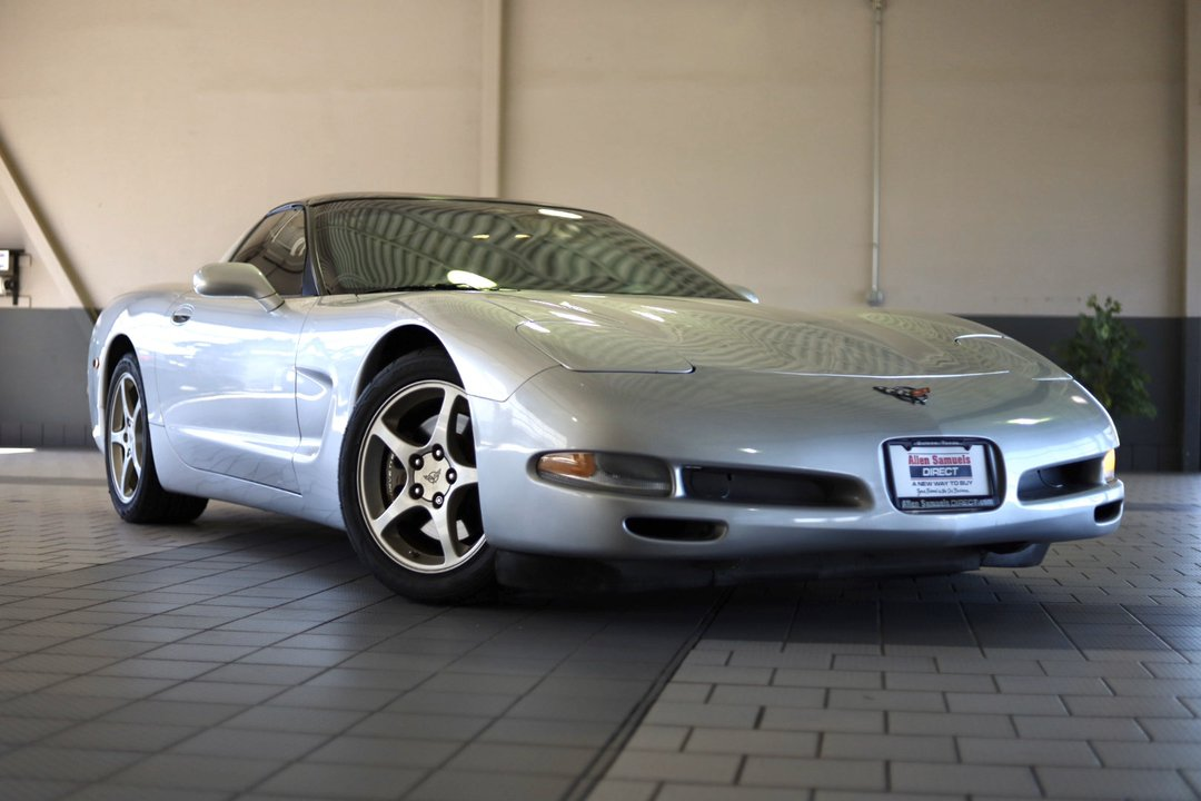 Certified Pre-Owned 2002 Chevrolet Corvette 2dr Cpe