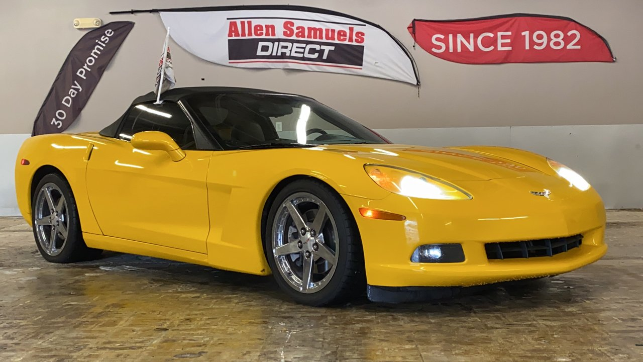 Pre-Owned 2005 Chevrolet Corvette 2dr Convertible