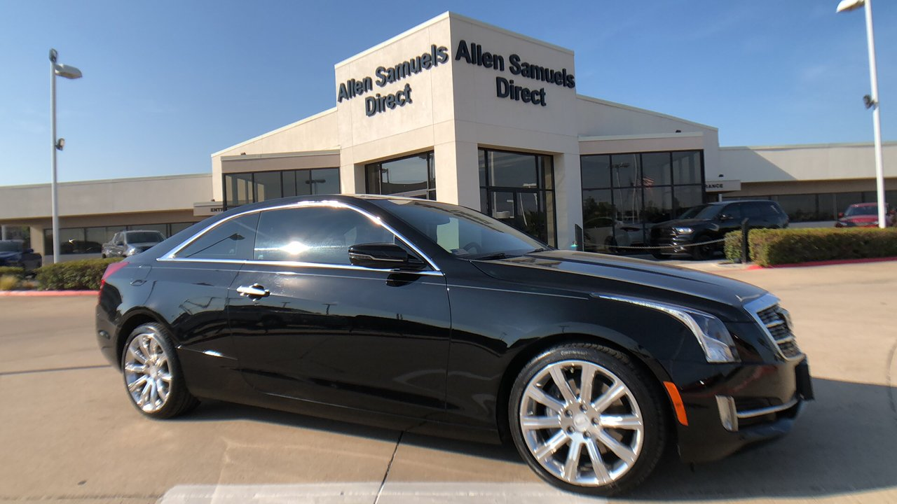 Pre Owned 2015 Cadillac Ats Coupe Luxury Rwd Rwd 2dr Car