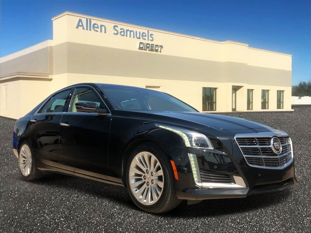 Certified Pre-Owned 2014 Cadillac CTS Sedan Performance RWD