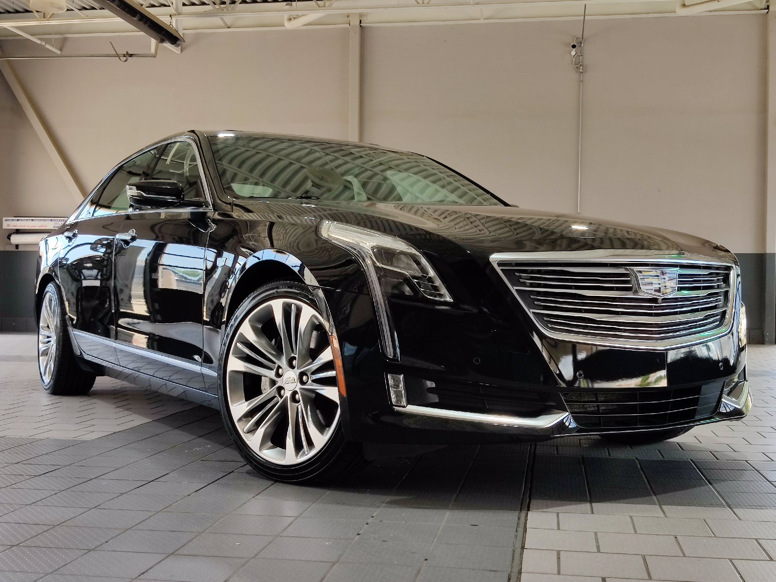 Certified Pre-Owned 2017 Cadillac CT6 Platinum AWD