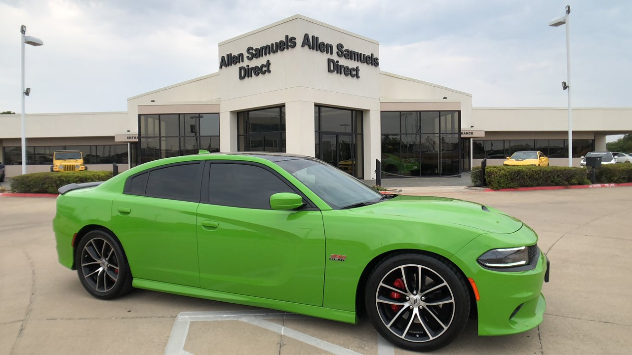 Pre Owned 2017 Dodge Charger R T Scat Pack 4dr Car In Euless