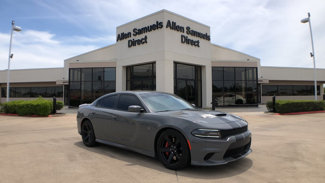 Certified Pre-Owned 2018 Dodge Charger SRT Hellcat