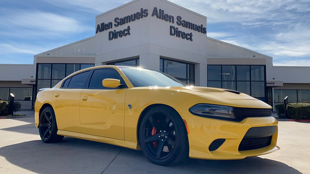 Certified Pre-Owned 2017 Dodge Charger SRT Hellcat