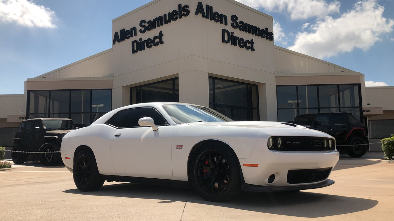 Certified Pre-Owned 2015 Dodge Challenger SRT 392