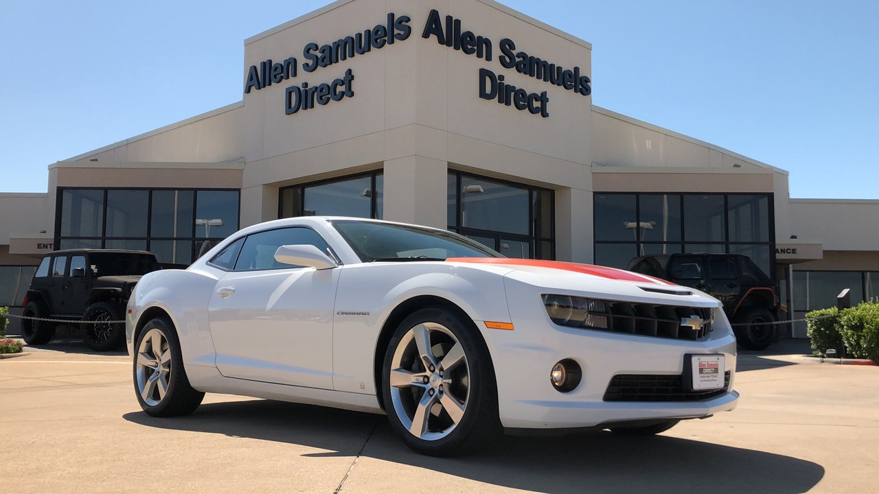 Certified Pre-Owned 2010 Chevrolet Camaro 2SS