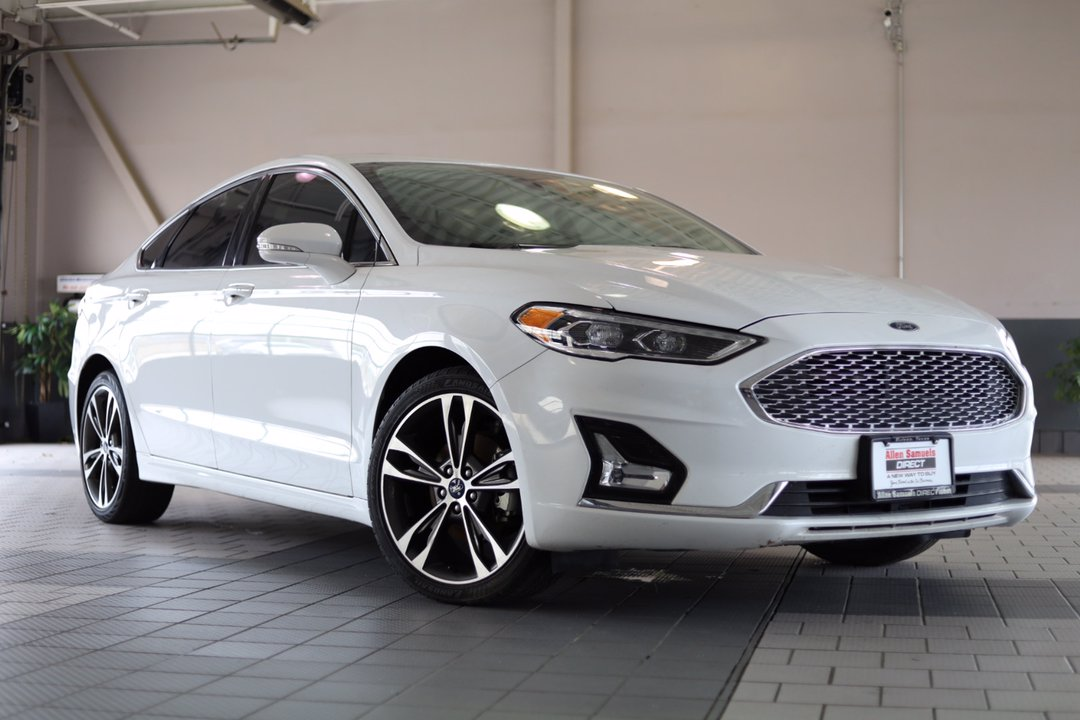 Certified Pre-Owned 2019 Ford Fusion Titanium