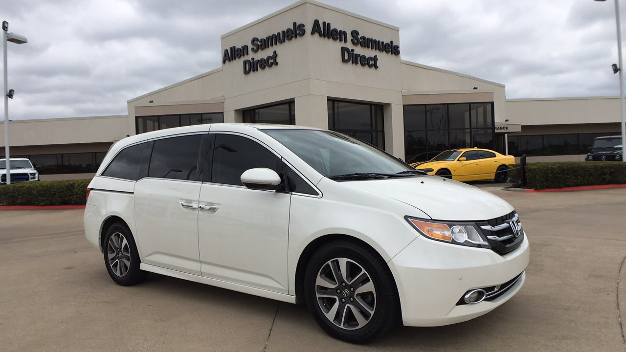 Marvelous Pre Owned 2015 Honda Odyssey Touring Elite