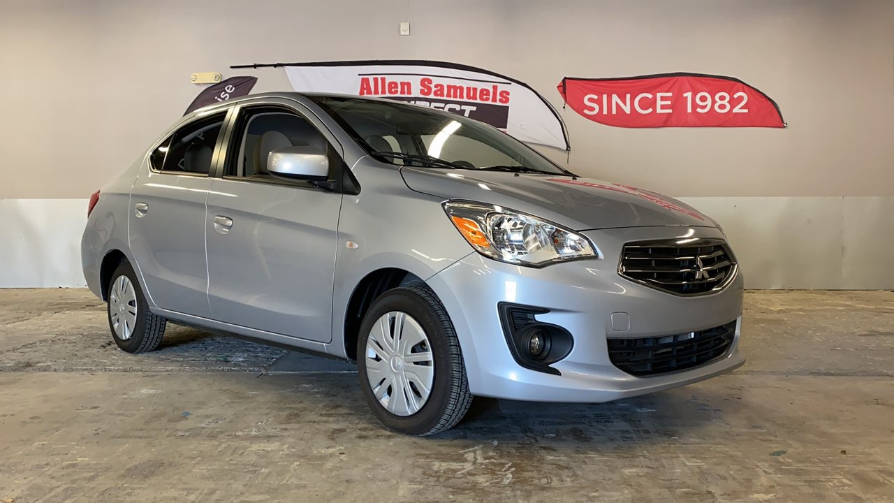 Certified Pre-Owned 2018 Mitsubishi Mirage G4 ES