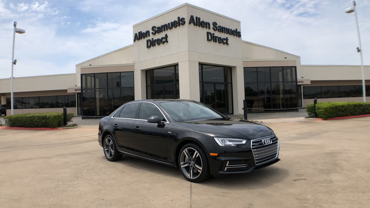 Certified Pre-Owned 2017 Audi A4 Premium Plus