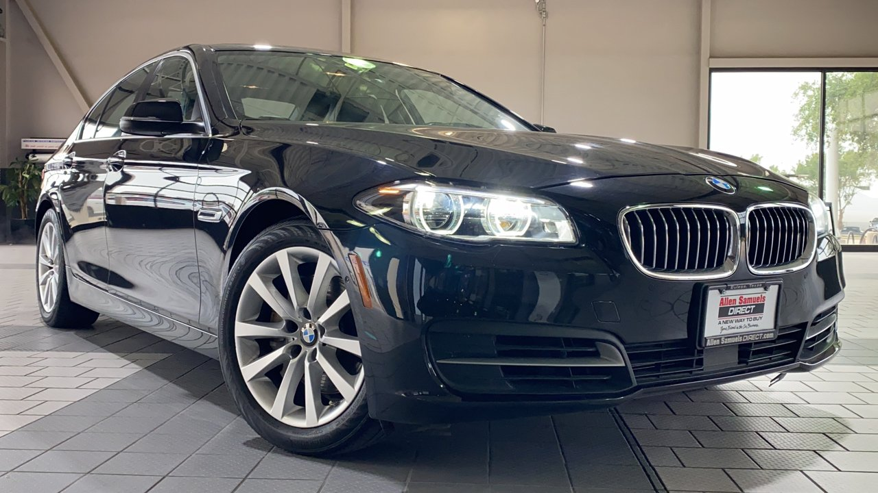 Certified Pre-Owned 2014 BMW 5 Series 550i