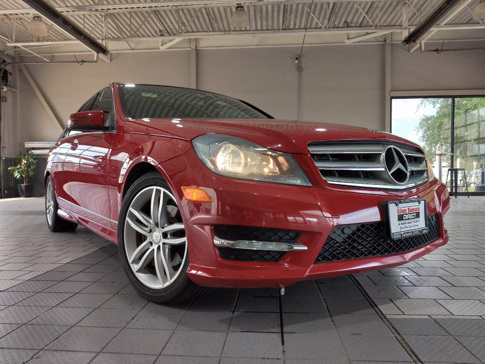 Certified Pre-Owned 2013 Mercedes-Benz C-Class 4dr Sdn C 250 Sport RWD