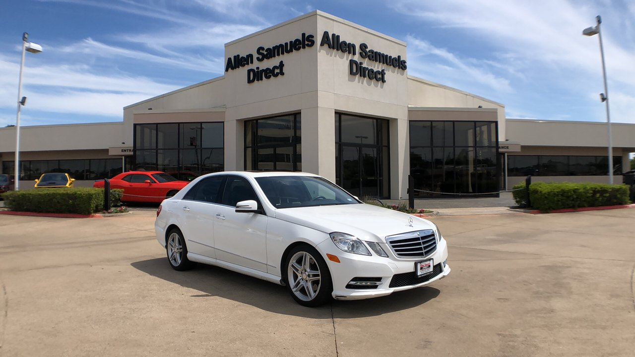 Certified Pre-Owned 2013 Mercedes-Benz E-Class 4dr Sdn E 350 Sport RWD *Ltd Avail*