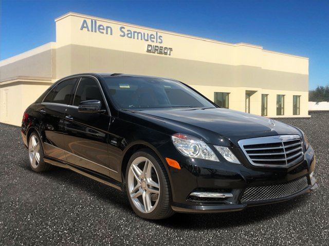 Certified Pre-Owned 2012 Mercedes-Benz E-Class 4dr Sdn E 350 Sport RWD