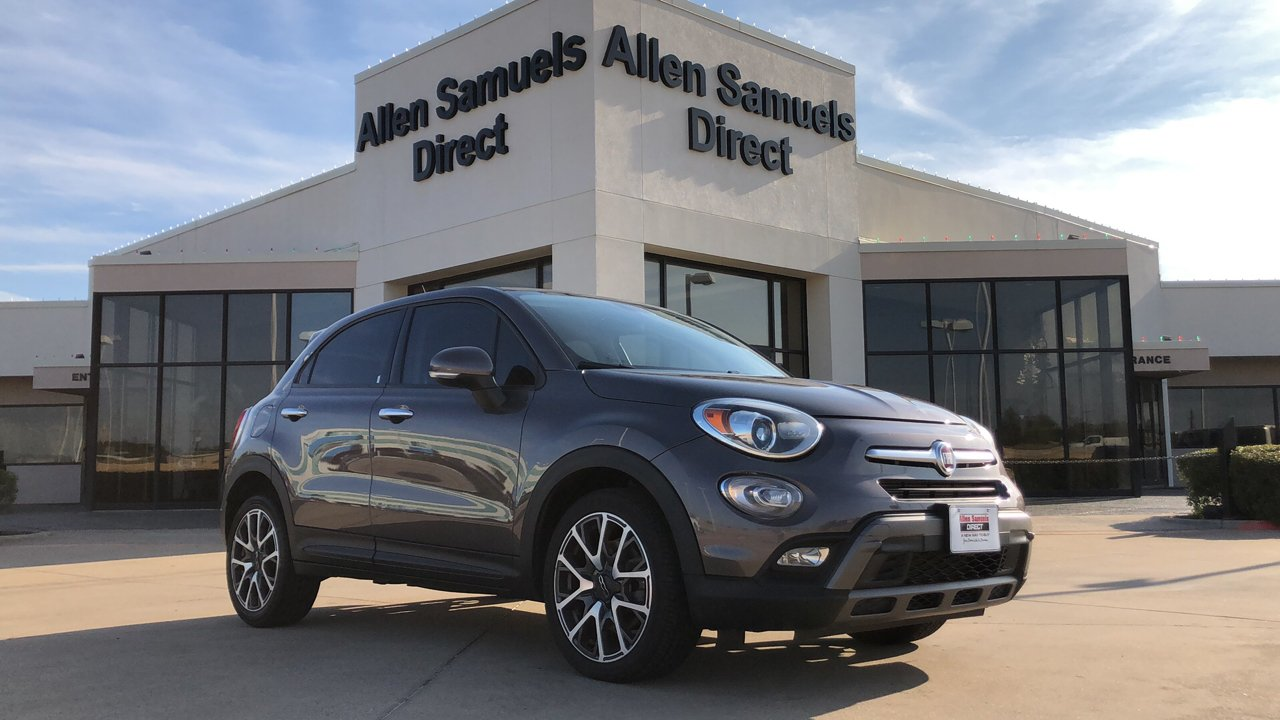 Certified Pre-Owned 2016 FIAT 500X Trekking Plus