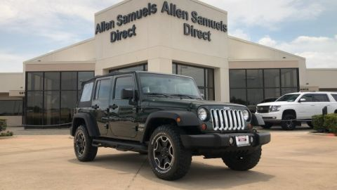 Certified Pre-Owned 2012 Jeep Wrangler Unlimited Sport