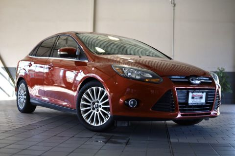 Certified Pre-Owned 2012 Ford Focus Titanium