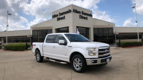Certified Pre-Owned 2015 Ford F-150 4WD SuperCrew 145 Lariat
