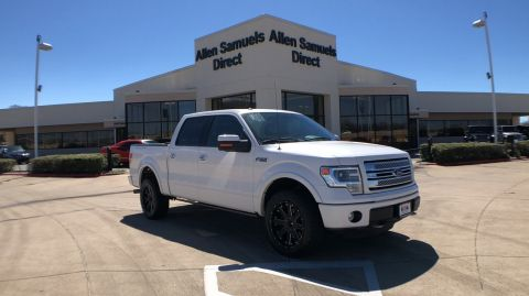 Certified Pre-Owned 2014 Ford F-150 4WD SuperCrew 145 Platinum