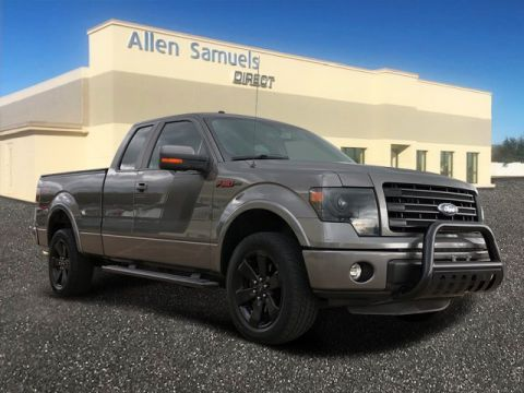Certified Pre-Owned 2014 Ford F-150 4WD SuperCab 145 FX4