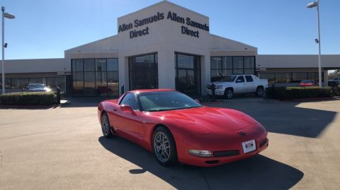 Pre-Owned 2002 Chevrolet Corvette Z06