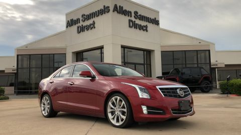 Certified Pre-Owned 2014 Cadillac ATS Premium RWD
