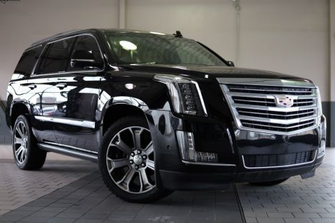 Certified Pre-Owned 2017 Cadillac Escalade Platinum