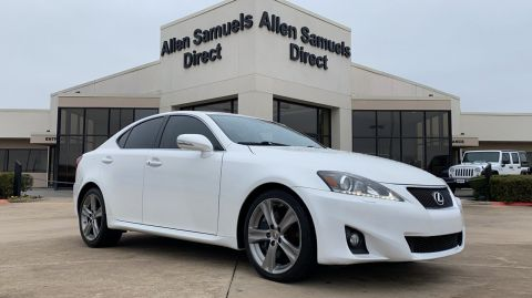 Certified Pre-Owned 2013 Lexus IS 350 4dr Sdn RWD